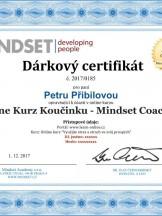 Darujte Online kurz koučinku - Mindset Coaching®