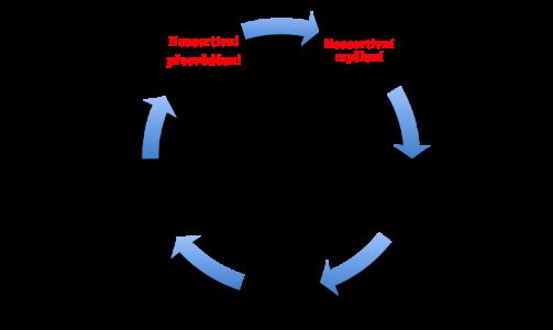 Začarovaný kruh  neasertivního chování
