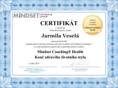 Certifikát Health Coach (1)