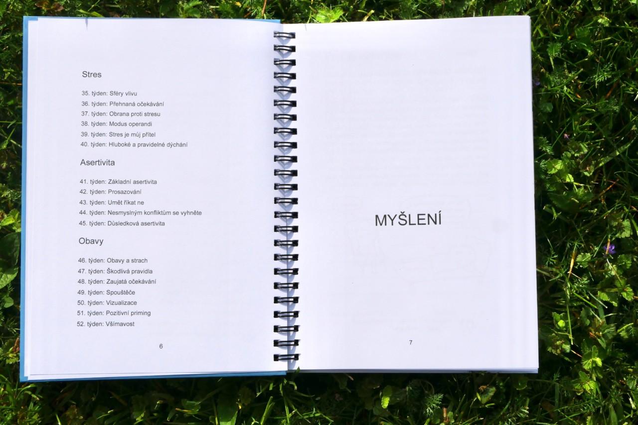 Koučinkový diář Mindset Academy - Obsah 2